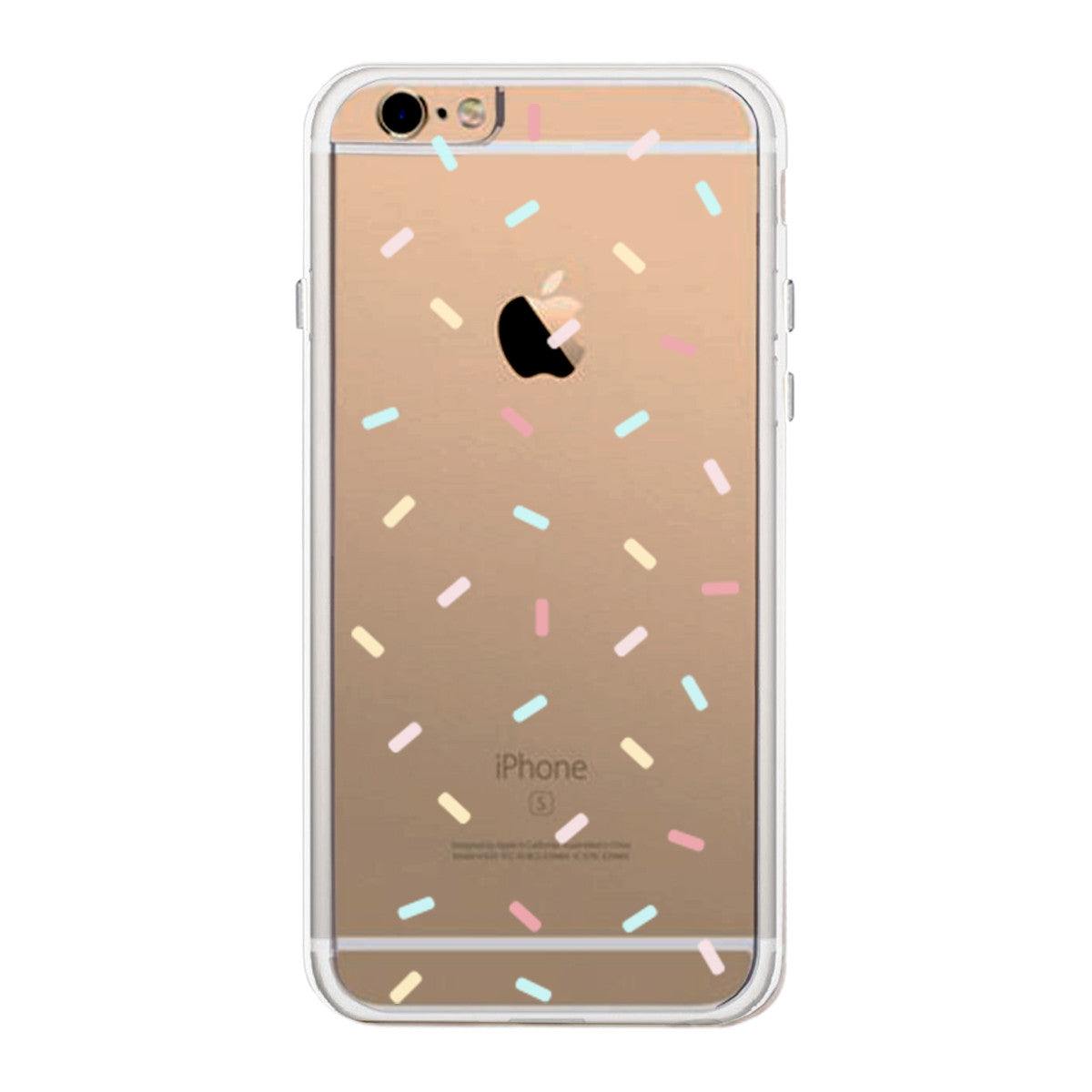 sale retailer 10a20 f29aa Moon And Stars Patten Phone Case Cute Clear Phonecase