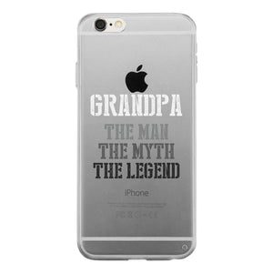 Legend Grandpa Clear Case Funny Fathers Day Gifts Grandpa Birthday