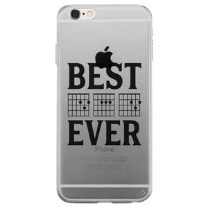 Best Dad Ever Guitar Chord Clear Case Creative Blessed Fathers Day