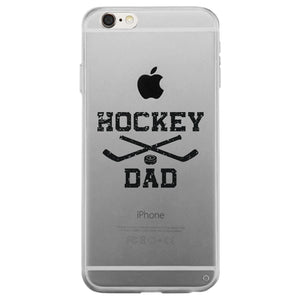 Hockey Dad Clear Case Appreciative Thoughtful Rad Cool For All Dads