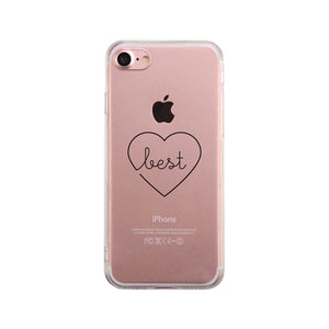 Best Babes - Clear Phone Case