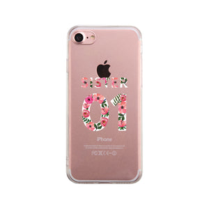 Sister01 - Clear Phone Case