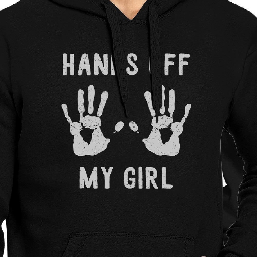 b4bfe7e2 Hands Off My Girl And My Guy Matching Couple Black Hoodie - 365 IN ...