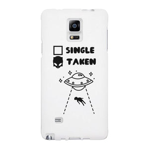Single Taken Alien Black Phone Case Funny Graphic Case