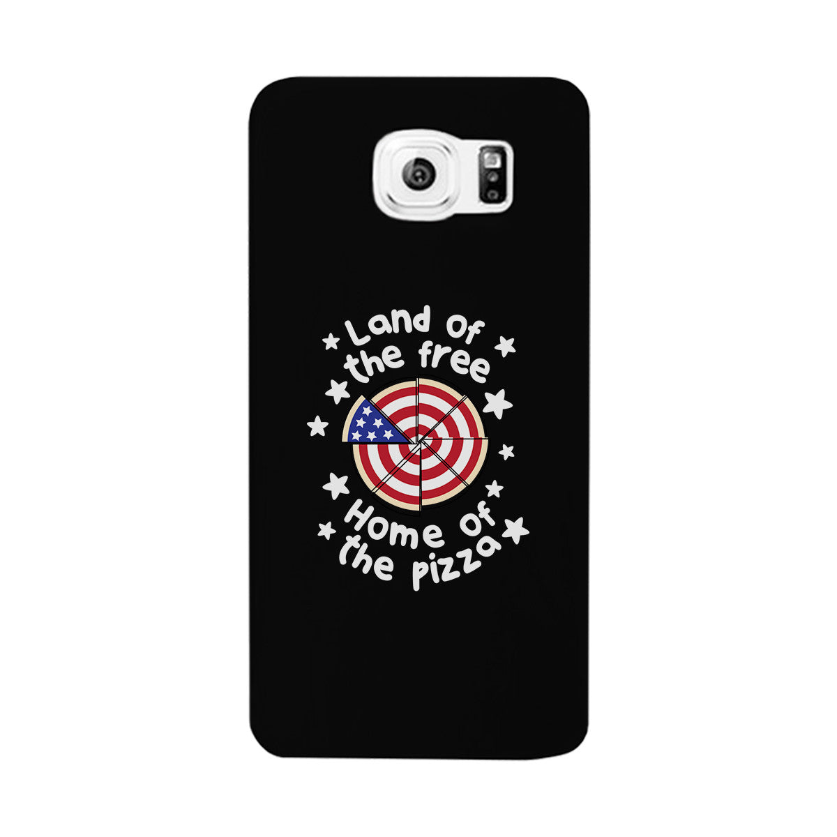 Land of the free home of the pizza black phone case 365 in love land biocorpaavc