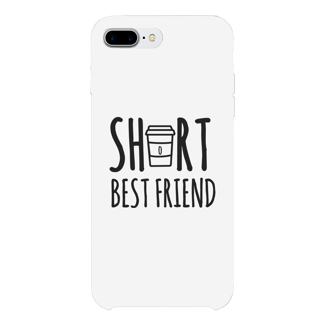 on sale a987f 17d05 Tall Cup and Short Cup Best Friend Matching Phone Cases BFF