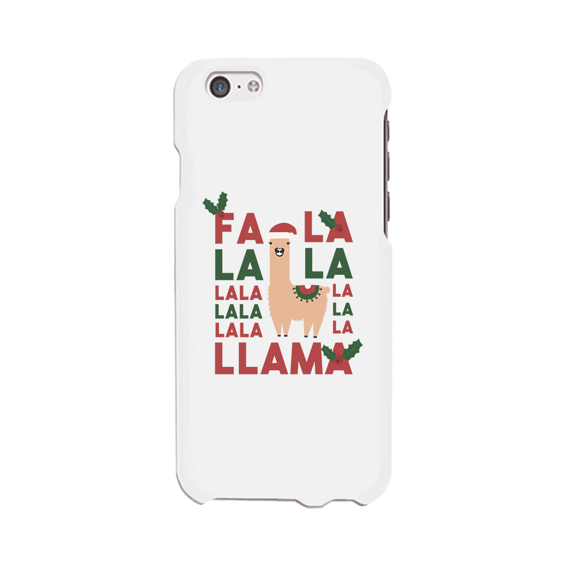falala llama phone case slim fit cute christmas phone cover gifts