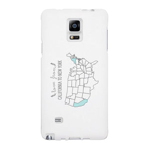 Love From States Customized Phone Case Personalized Phone Cover - 365INLOVE