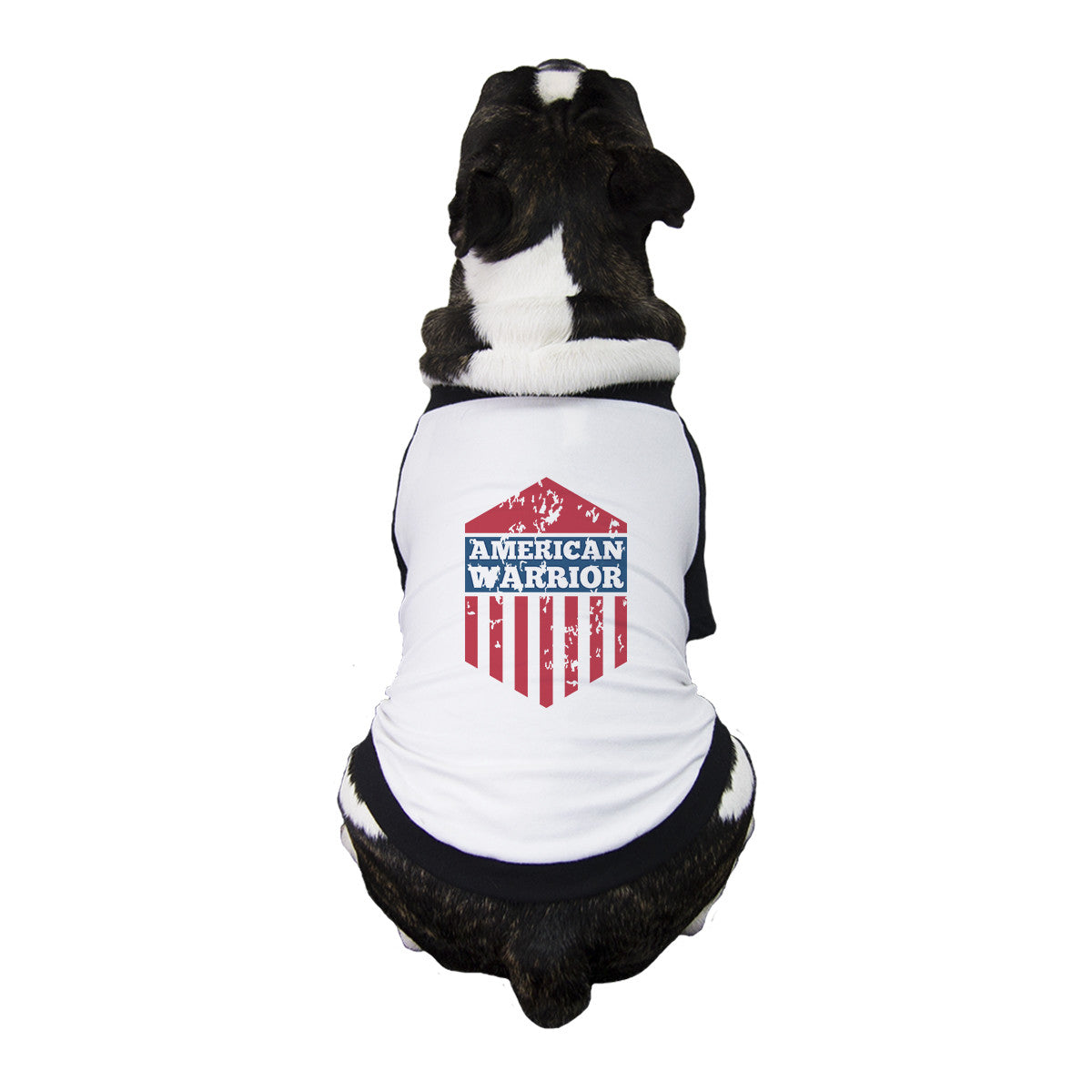buy popular 787bd 1226a American Warrior Pet Baseball Jersey Cute 4th Of July For Small Pet