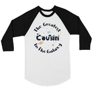The Greatest Cousin Mens Baseball Shirt Funny Cousin Christmas Gift