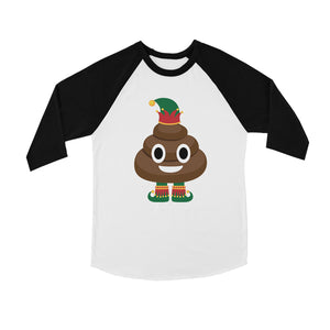 Poop Elf BKWT Kids Baseball Shirt