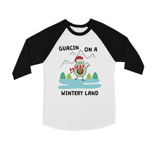 Gaucin Wintery Land BKWT Kids Baseball Shirt