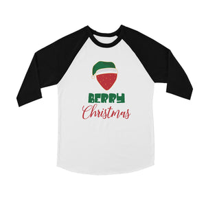 Berry Christmas BKWT Kids Baseball Shirt