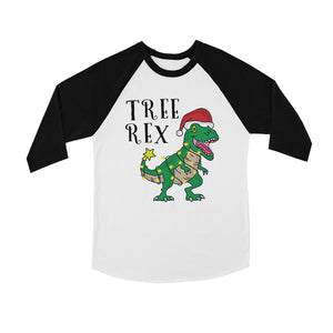 Tree Rex BKWT Kids Baseball Shirt