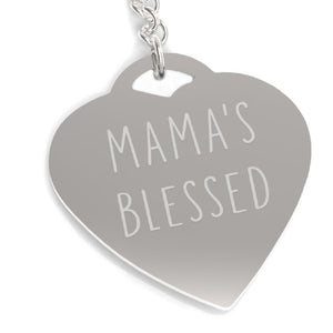 Mama's Blessed Unique Design Key Chain Cute Gift Ideas For Moms - 365INLOVE