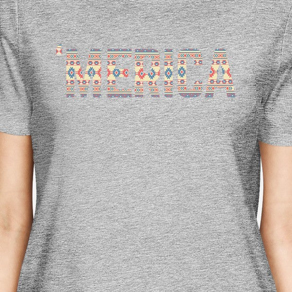 e15d614440 'Merica Womens Witty Graphic T-Shirt For Independence Day Gift Idea - 365  IN LOVE - Matching Gifts Ideas