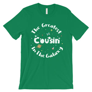 The Greatest Cousin Mens Funny Graphic T-Shirt Cute Gift For Cousin