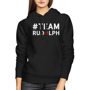 #Team Rudolph Christmas Hoodie Cute Matching Outfits For Members - 365INLOVE