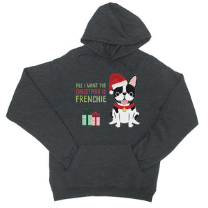 Christmas Frenchie Present Unisex Hoodie