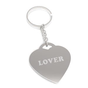 Lover Cute Design Heart Shape Key Chain Gift Ideas For Anniversary - 365INLOVE