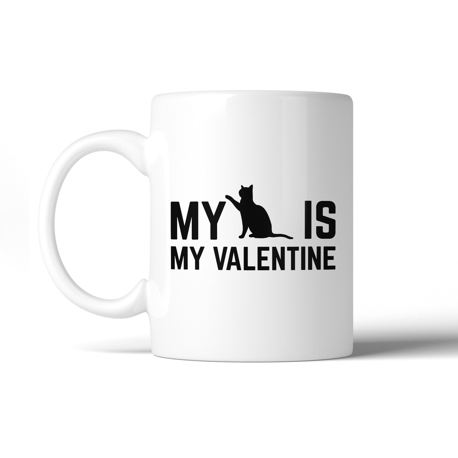 My Cat My Valentine Cute Coffee Mug Funny Gift Ideas For Cat Lovers