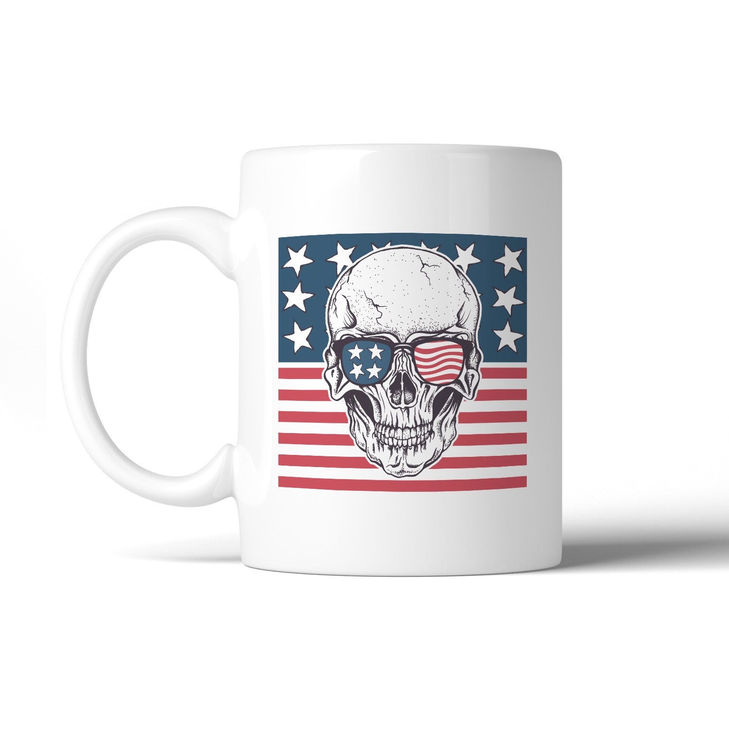 Skull american flag design coffee mug microwave dishwasher safe skull american flag design coffee mug microwave dishwasher safe biocorpaavc Images