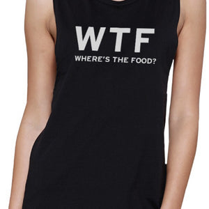 Where's The Food Muscle Tee Work Out Shirt Funny Gym T-Shirt - 365INLOVE