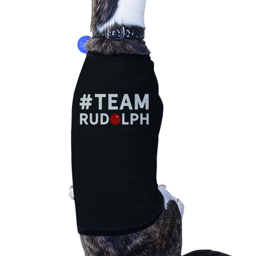 Team Rudolph Pet T-shirt Cute Christmas Gifts For Small Dog - 365 IN ...