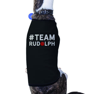 #Team Rudolph Pet T-shirt Cute Christmas Gifts For Small Dog - 365INLOVE