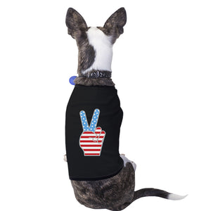 American Flag Pets Shirt Black 4th Of July Small Dog Owners Gifts - 365INLOVE