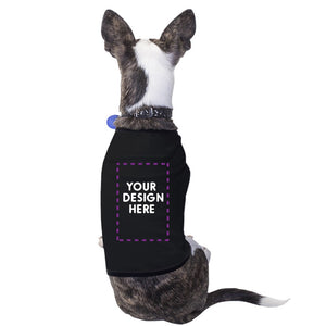 Custom Personalized Pets Black Shirt