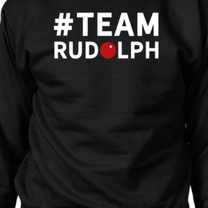 #Team Rudolph Sweatshirt Family Or Group Matching Christmas Gift - 365INLOVE
