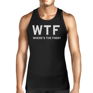Where's The Food Unisex Tank Top Men's Work Out Sleeveless Shirt - 365INLOVE