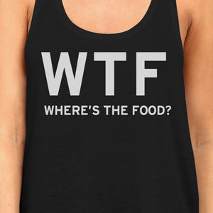 Where's The Food Tank Top Work Out Shirt Funny Gym Racerback - 365INLOVE