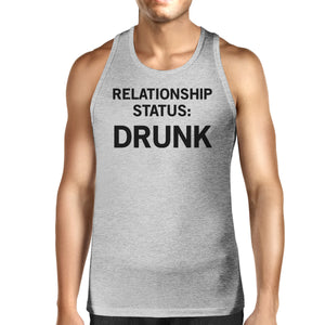 Relationship Status Men's Cotton Tanks Unique Design Graphic Tanks - 365INLOVE