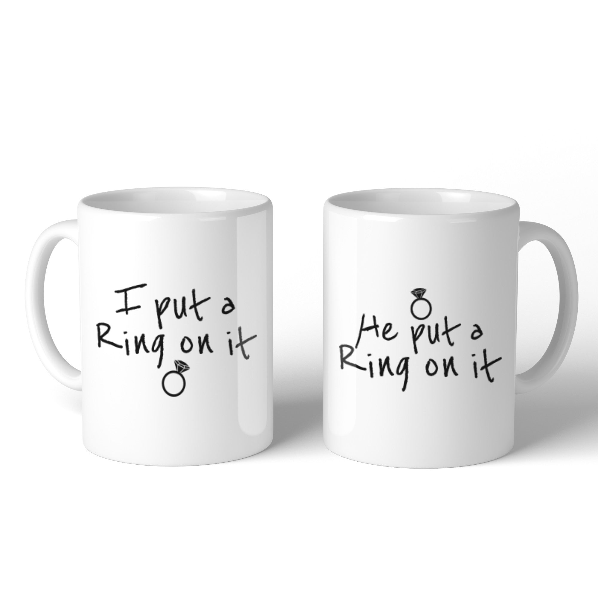 dfdc4673f couple loved one ones matching hubby wifey husband wife boyfriend  girlfriend fiancé. Ring On It Couple Mug ...