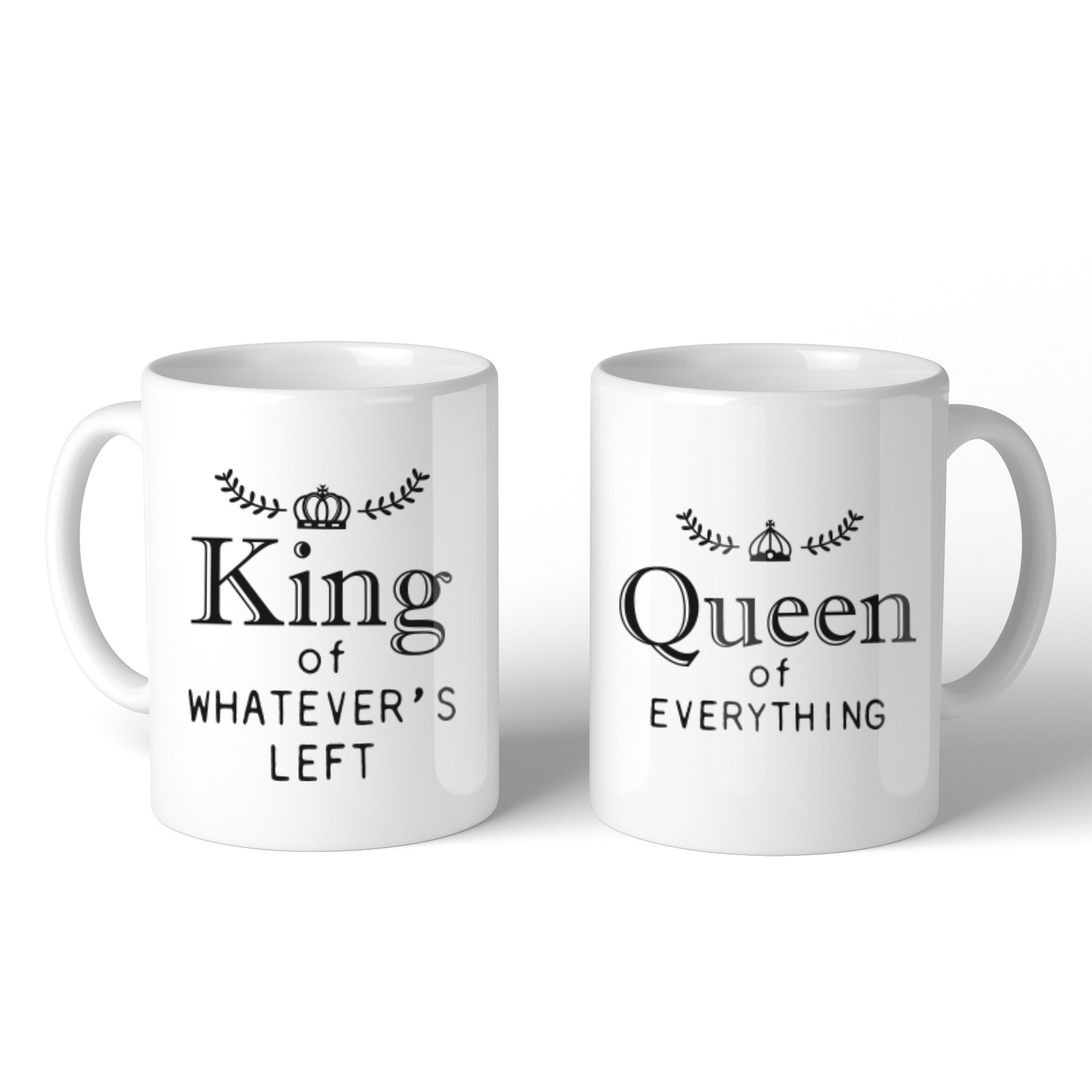 King And Queen Of Everything Couple Mug Christmas Valentine Gifts ...