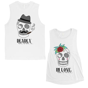 Deadly In Love Couples Muscle Tank Tops