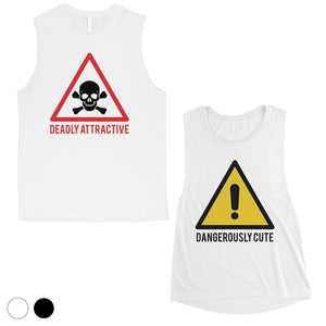 Attractive & Cute Matching Muscle Tank Tops Valentine's Day Gift