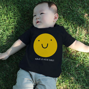Graphic Snap-on Style Baby Tee, Infant Tee - Have A Nice Day - 365INLOVE