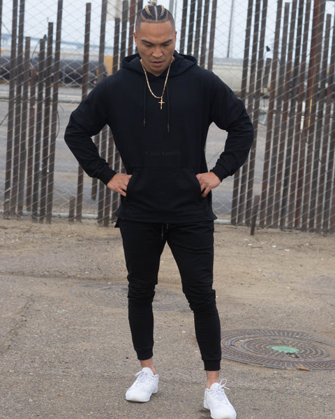 French terry hoodie premium gym clothing