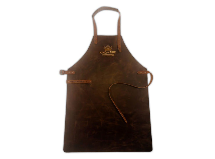 King of Fire Classic Leather Apron