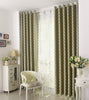 "Airdodo Solid Geometric Forest Green Grommet-top blackout Curtain 60""W x 84""L (One Panel)"
