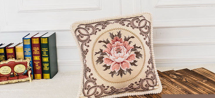 "Airdodo Decorative Moroccan Inspired Cushion Throw Pillow 20""x20"" Zipper Cover."