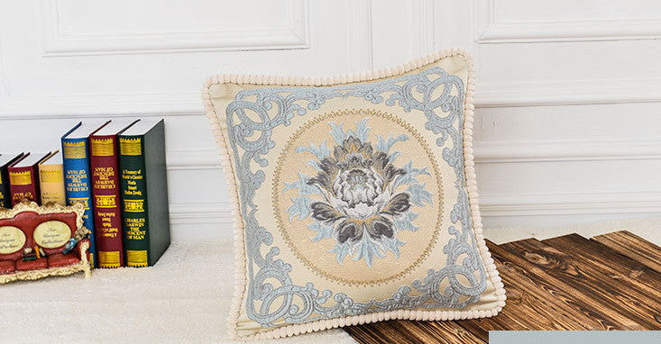 "Airdodo Decorative Moroccan Inspired Cushion Throw Pillow 20""x20"" Zipper Cover"