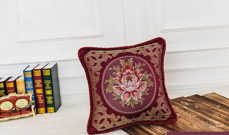 Airdodo Decorative Moroccan Inspired Cushion Throw Pillow 20 X 20 Inch Zipper cover