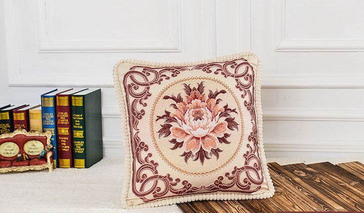 Airdodo Decorative Moroccan Inspired Cushion Throw Pillow 20 x 20 Inch with Zipper cover