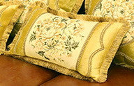 Airdodo Decorative European Floral Style 12x20 Lumbar Pillow.