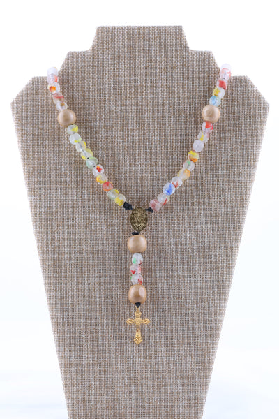Assorted beads Rosary