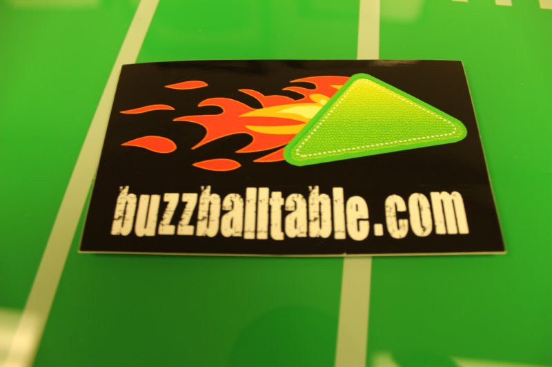 Buzz Ball Product Sticker